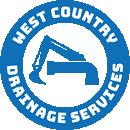 Westcountry Drainage Logo Mono Blue